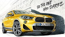 The First-Ever BMW X2